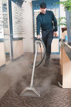 Hot water extraction by Kentuckiana Carpet and Upholstery Cleaning LLC.